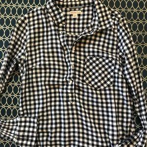Cute Merona plaid flannel blouse